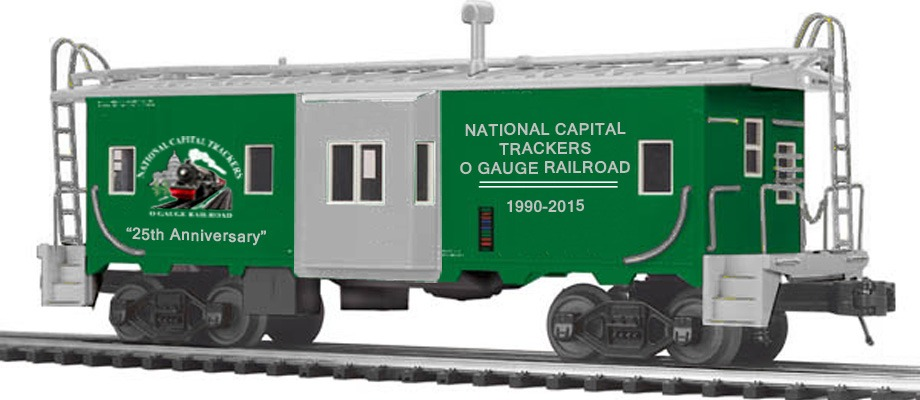 25th Anniversary Caboose