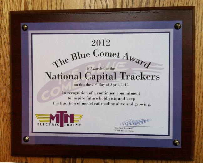 blue comet award