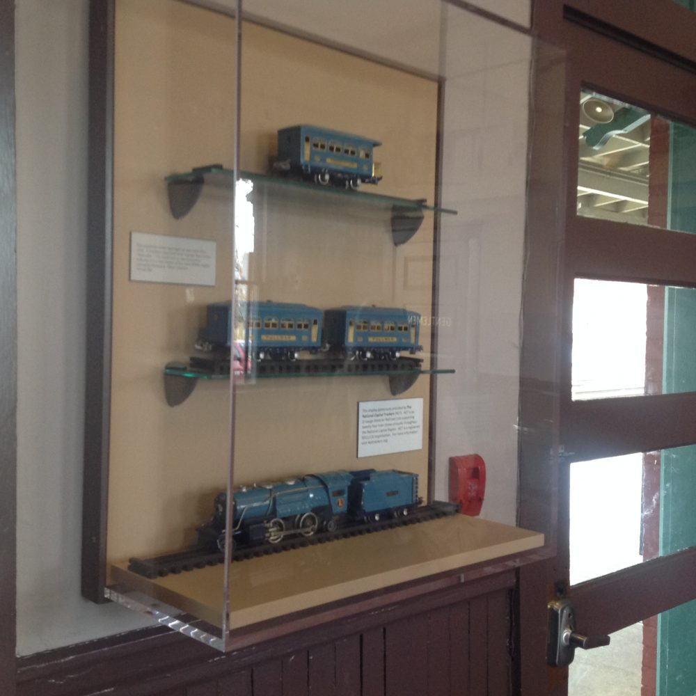 Manassas Amtrak Station Exhibit , February 2019