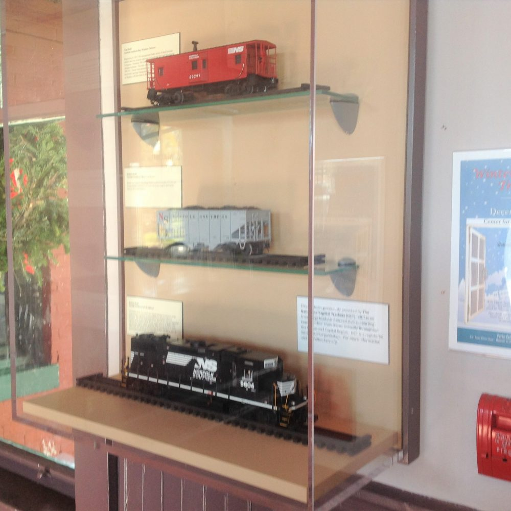 Manassas Amtrak Display Update