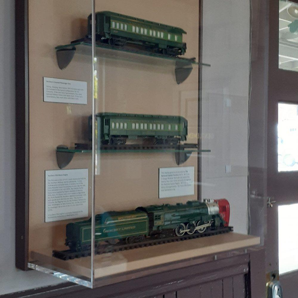 Manassas Amtrak Display